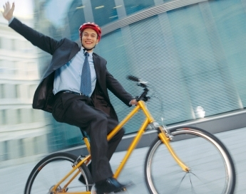 Riding Your Bike To Work Healthy And Money Saving One Smart Dollar