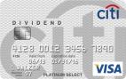 Citi Dividend Platinum Select Visa