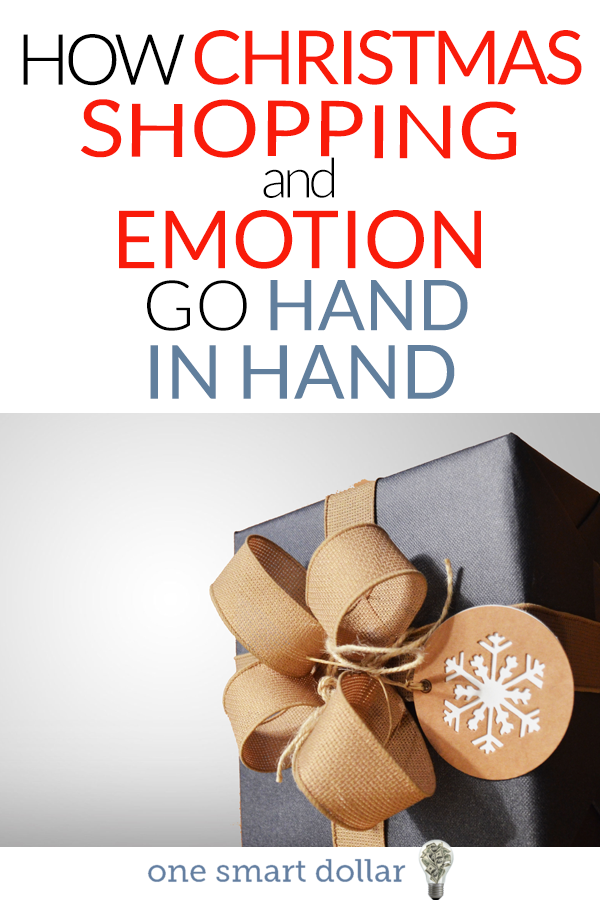 Our emotions play a big part in the Christmas gifts that we buy. Read more to find out why this is. #Christmas #Gifts #Shopping