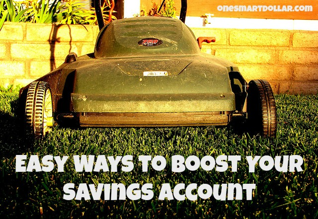 Boost Your Savings Account