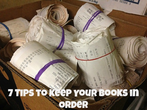Tips to Keep your books in Order