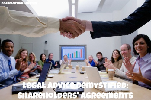 Legal Advice Demystified: Shareholders' Agreements