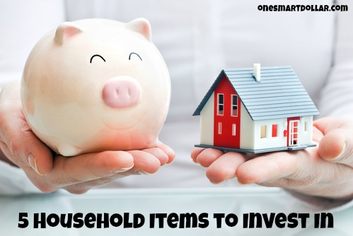 5 Household Items to Invest In