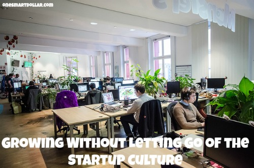 Growing Without Letting Go of the Startup Culture