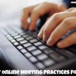 Best Online Meeting Practices for IT