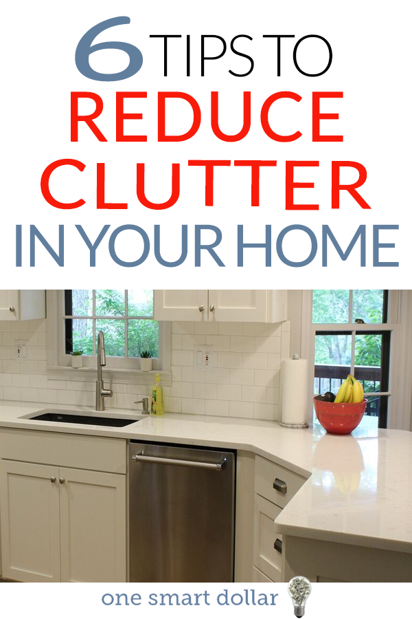 Do you find it difficult to keep your house clean from clutter? Here are 6