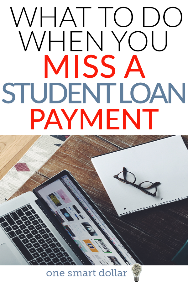 Have you missed a student loan payment? If so you're not alone. Here are some tips to help you to minimize the effects on your credit score.