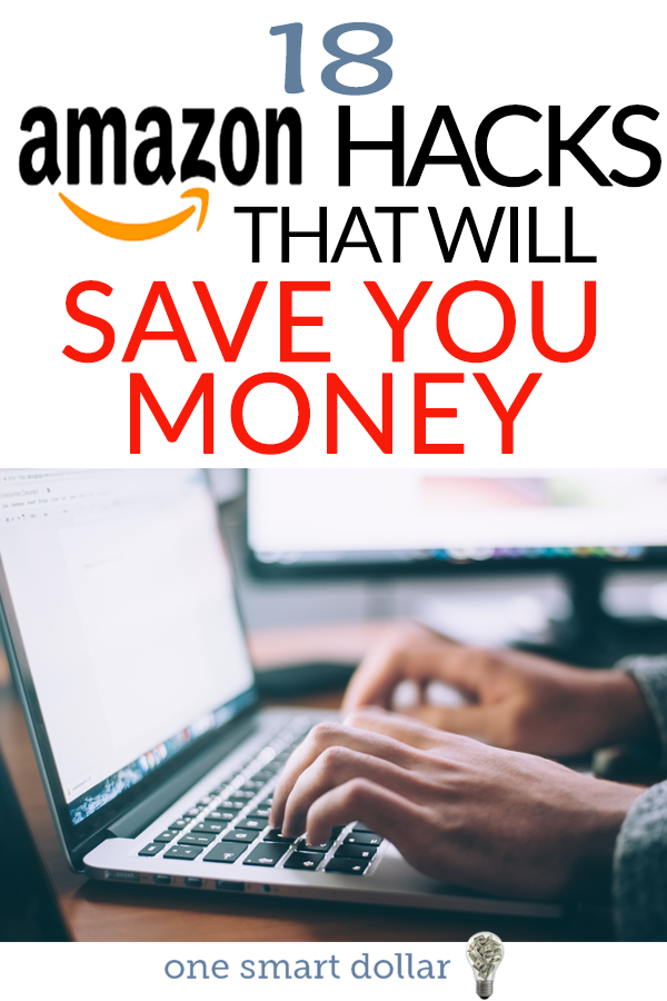 Do you frequently shop on Amazon? Here are 18 of the best Amazon hacks that will help you save money. #SavingMoney #AmazonDeals #AmazonPrime #Amazon