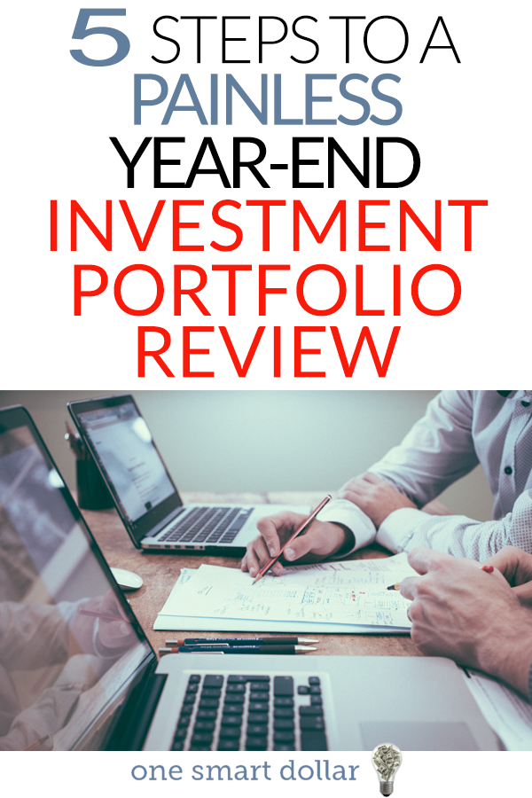 December is the perfect time of year to look at the overall health of your investment portfolio. Here are five steps that everyone should follow. #Investments #HSA #Investing #PersonalFinance