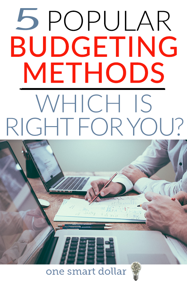 There are so many different budgeting methods available. If you're looking to create a budget for yourself, then give one of these ideas a try. #Budgeting #Budget #Saving #PersonaFinance