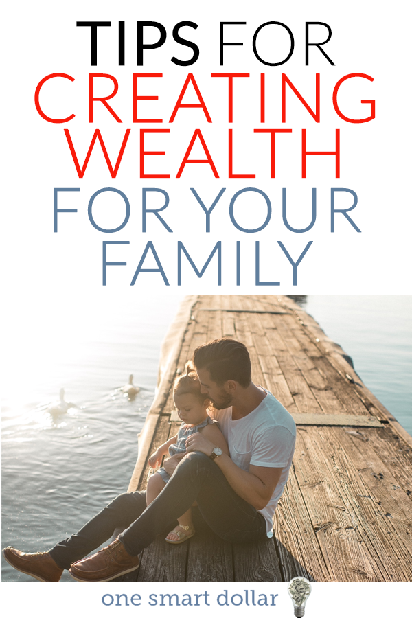 Follow these simple tips to start creating wealth for your family. #PersonalFinance #Wealth #Finance