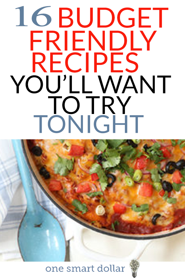 Are you looking for a new recipe to fix for your friends and family? Here are 16 budget friendly recipes that they a guaranteed to love. #Recipes #HealthyRecipes #DinnerRecipes #EasyRecipes #CrockpotRecipes #BudgetRecipes
