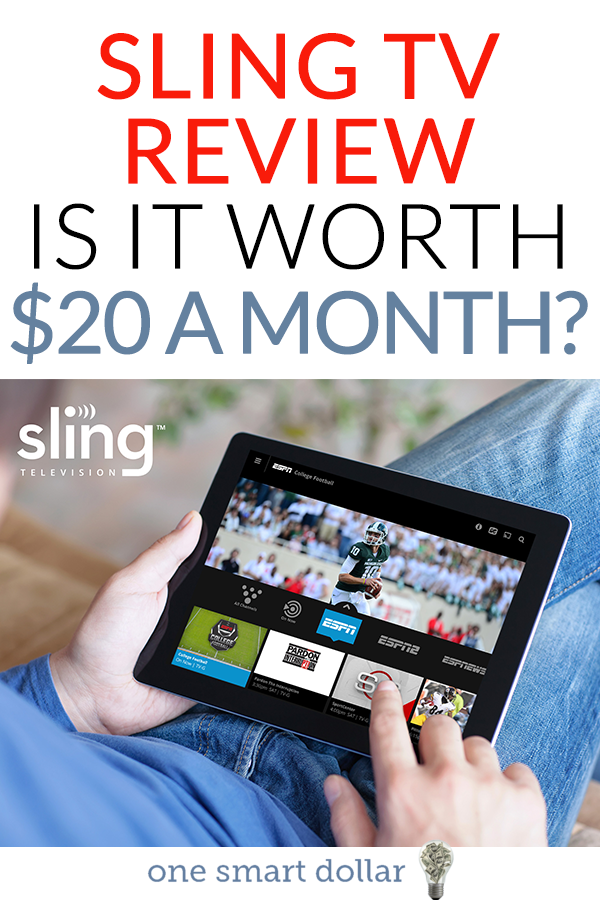 Have you been thinking about cutting cable and switching to SlingTV? Make sure you check out this review to find out if SlingTV is worth the $20 per month. #SlingTV #CableAlternatives #CuttingTheCord #CableTV