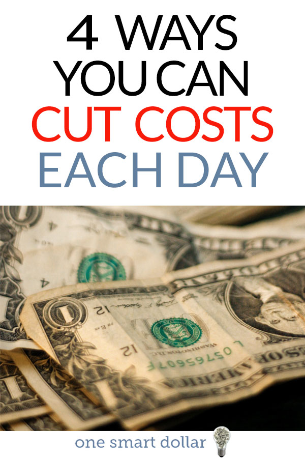 Are you looking to save even more money in 2018? Here are four ways that you can easily cut costs and save. #SavingMoney #Frugality #MoneyMatters