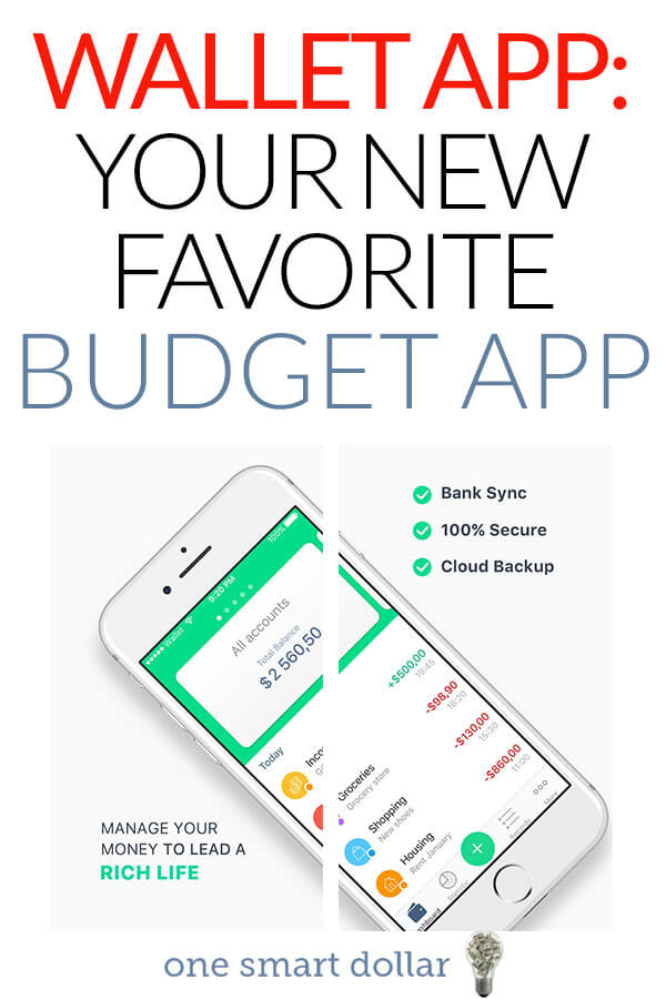 Wallet App Review: Your New Favorite Budget App | One Smart Dollar